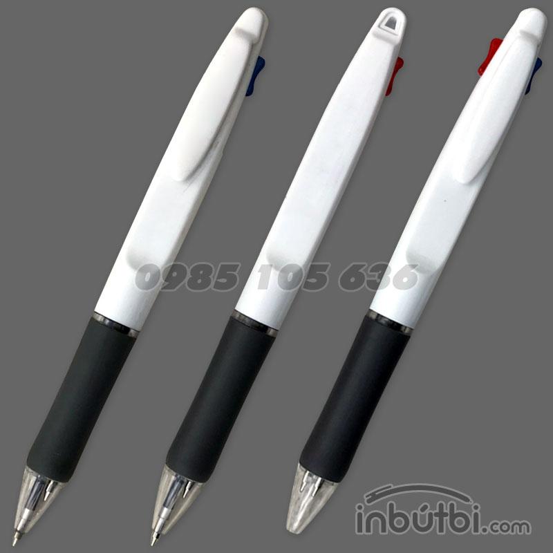 Bút bi 2 ngòi in logo giá rẻ tại Hà Nội