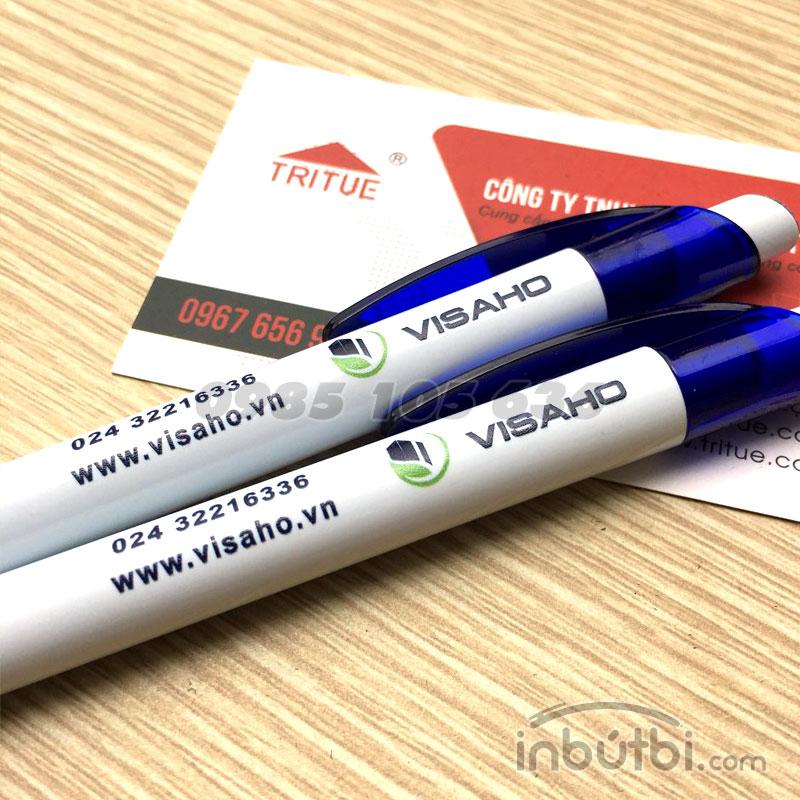 In bút bi theo yêu cầu làm quà tặng siêu rẻ