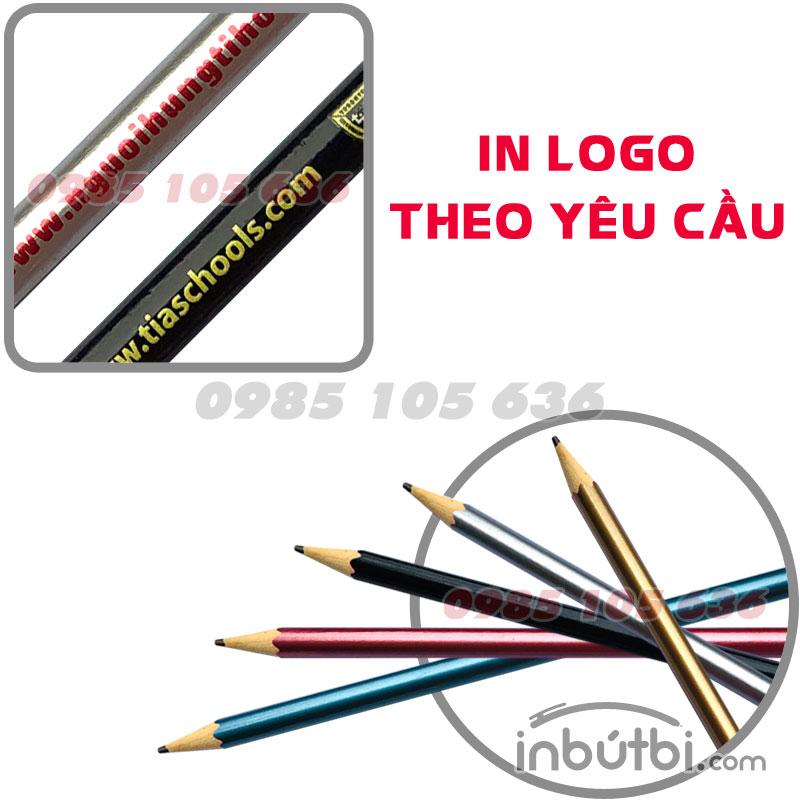 Sản xuất bút chì quảng cáo 2b giá rẻ