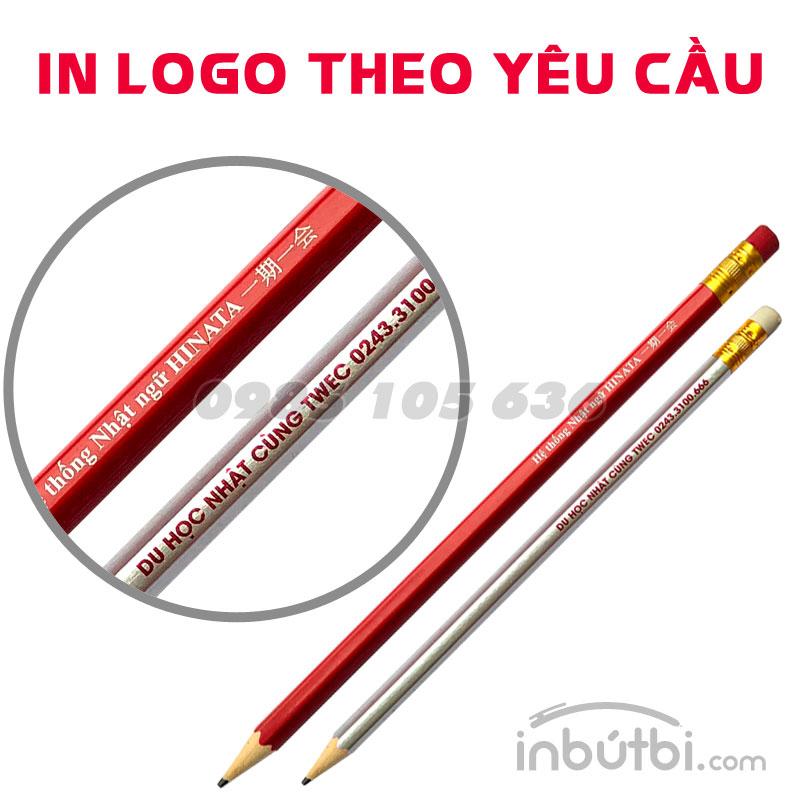 In bút chì gỗ 2b giá rẻ theo yêu cầu tại Hà Nội