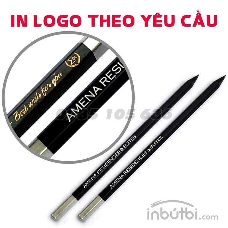 In logo bút chì quảng cáo giá rẻ