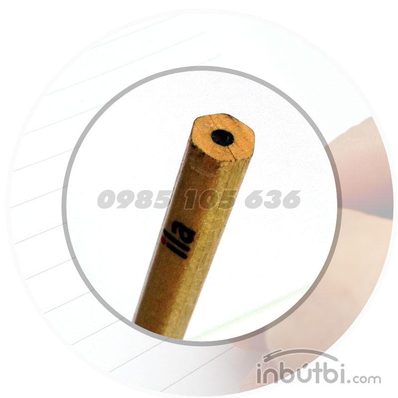 Bút chì gỗ quảng cáo 2B giá rẻ